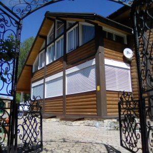 Рафшторы для деревянного дома